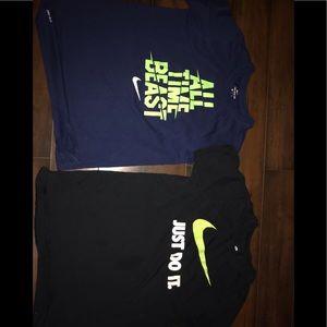 Nike youth shirts